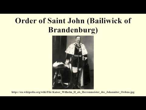 Order of Saint John (Bailiwick of Brandenburg)
