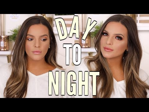 EASY DAY TO NIGHT MAKEUP LOOK!  | Casey Holmes