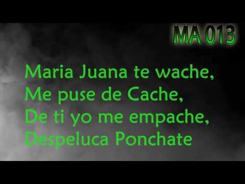 Maniako - Maria Juana Letra (Descargar)