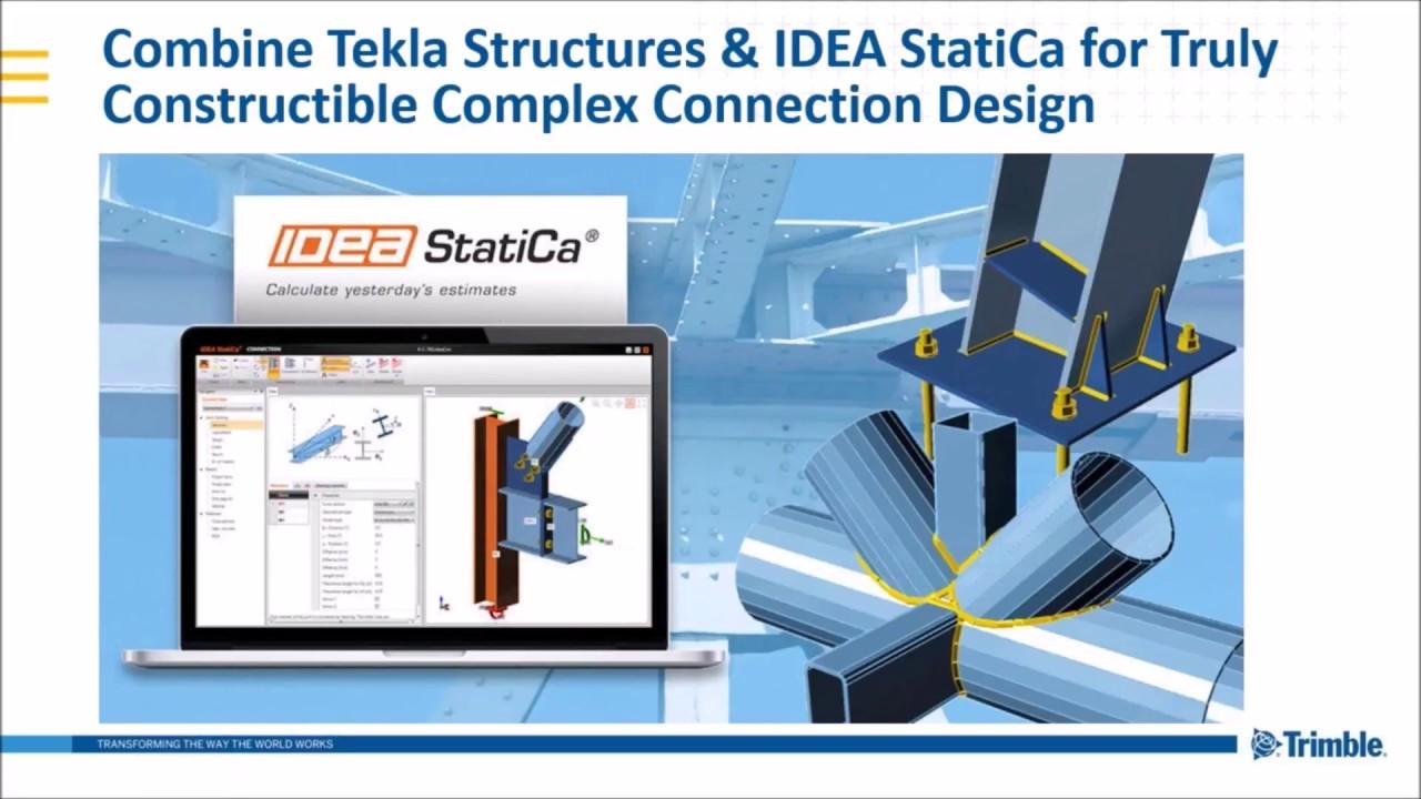 IDEA StatiCa and Trimble | IDEA StatiCa