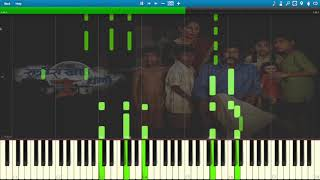 How to Play Ratris Khel Chale Title Song  on Piano (Synthesia Tutorial)