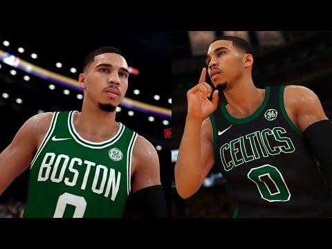 NBA 2K19 Jayson Tatum Screenshot and Rating!