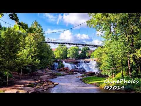 Greenville Falls Park Time Lapse