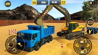 Heavy Excavator Crane Builder (by Game Town Studio) Android Gameplay HD