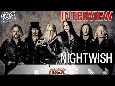 Nightwish - interview 2015 @Linea Rock - by Barbara Caserta