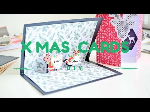 Pomysły na kartki świąteczne  DIY XMAS CARDS