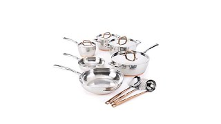 FOOD WINE 13piece Stainless Steel Cookware Set