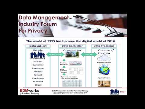 Privacy By Design and Consent Management Webinar