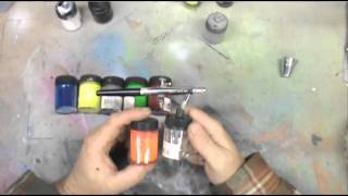 Airbrush 101. Gravity vs Siphon