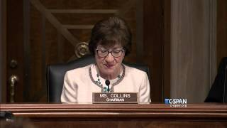 Senator Susan Collins demonstrates Phone Scams (C-SPAN)