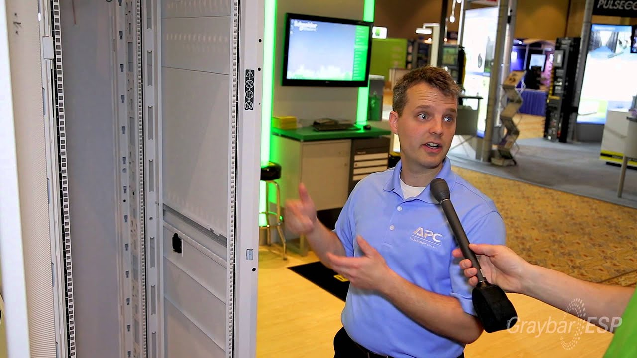 Install Maintain And Operate Your Data Center Easier With Apcs Rack Server Apc Ar3100 Netshelter Sx 42u Enclosure Youtube