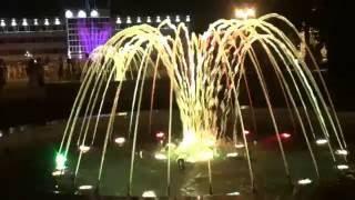 Анапа 2016 /Номер /Ночные развлечения /Шоу фантанов /Карусели
