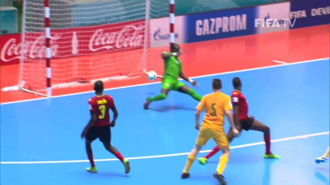 Video: Futsal Mozambique vs Futsal Australia