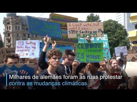 afpbr: Alemães vão às ruas em defesa do planeta