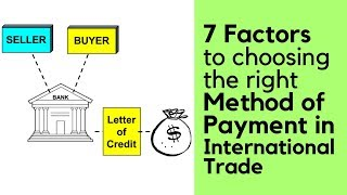 7 Factors to choosing the right Method of Payment in International Trade