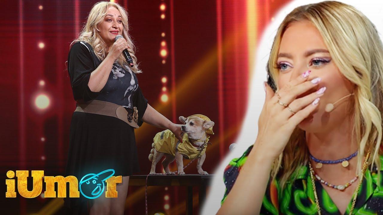 Camelia și câinele Bobiță, duet inedit pe scena iUmor: I Will Always Love You