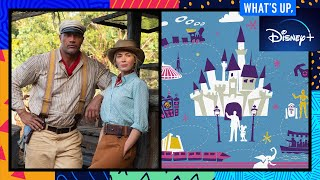 The Cast of Disney's Jungle Cruise and Behind the Attraction   What's Up, Disney+