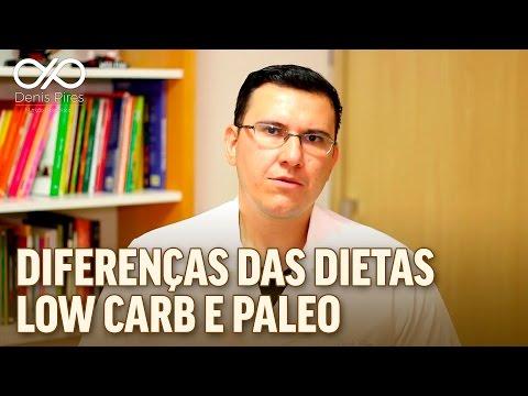 dieta paleo e low carb diferença