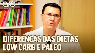 Diferenças das dietas LOW CARB e PALEO - Denis Pires Nutricionista