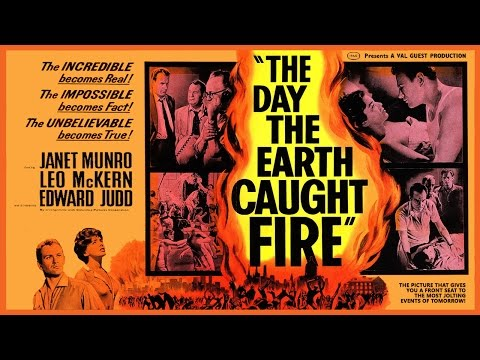 The Day the Earth Caught Fire (1961) Trailer - B&W / 2:38 mins