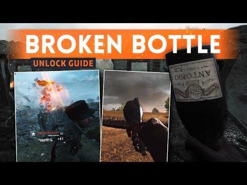 ➤ UNLOCK SECRET BROKEN BOTTLE MELEE WEAPON! - Battlefield 1 Apocalypse DLC (Wine Bottle Locations)