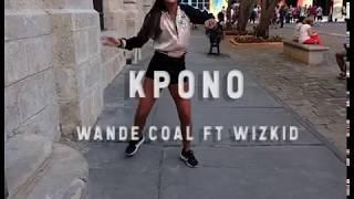 KPONO Wande Coal ft. Wizkid Coreografía Nazarena Caramelo