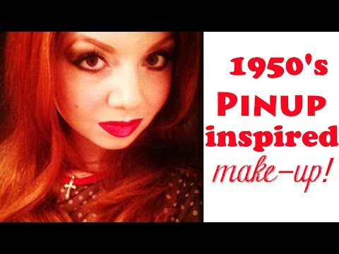 1950s Vintage-Inspired Pinup Makeup Tutorial!