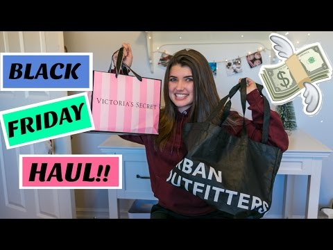Black Friday Haul 2016 - Brandy Melville, Urban Outfitters, Victoria's Secret