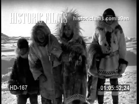 HISTORIC FILMS HD COLLECTION - ESKIMO VILLAGE AND LIFESTYLE