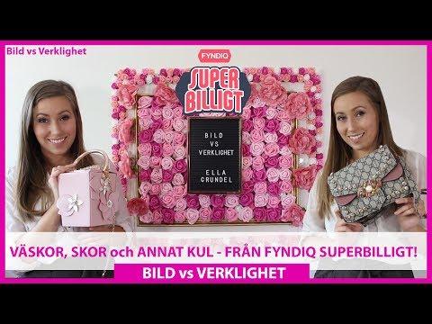 Bild vs. Verklighet | Väskor, skor och annat kul från Fyndiq Superbilligt!