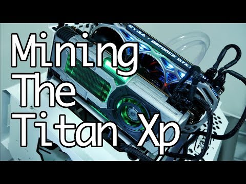 Mining The Star Wars Nvidia Titan Xp Solo And The 1080 Ti On Nicehash And Ethereum.