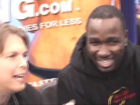 Joseph Addai - NFL Running Back Interview