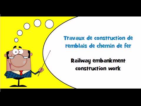 Learn French vocabulary # Theme # Construction work for social services buildings