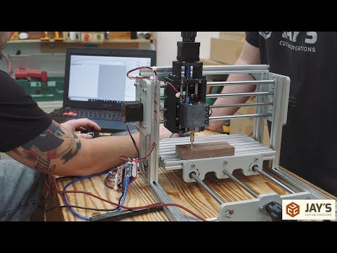 Product Tour #1: 3 Axis Mini DIY CNC Engraver
