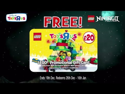 Toys R Us LEGO Ninjago Samurai X Cave Chaos & Free £20 Lego Gift ...