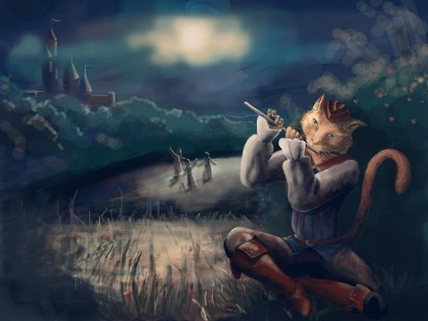 Кот играл на флейте текст