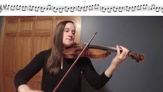 Perpetual Motion Violin Duet Play-a-Long
