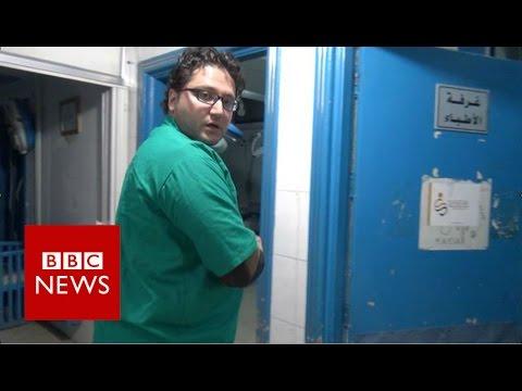 Aleppo's Underground Doctors - BBC News