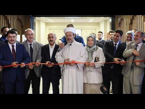 Diyanet İşleri Başkanlığı Kütüphanesi açıldı