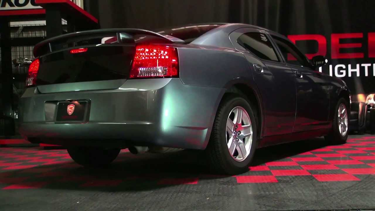 Spyder Auto Installation: 2006-08 Dodge Charger LED Tail ...