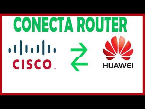 Conectar Redes CISCO & HUAWEI Con ENSP Y GNS3 - 2019