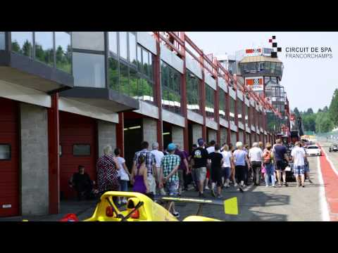 Facebook post from Discover Spa-Francorchamps