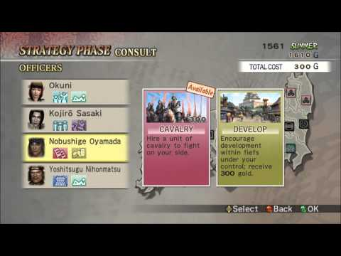 Let's Play Together Samurai Warriors 2 Empires Part 02