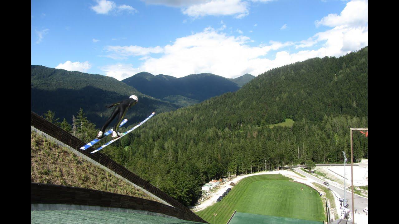 Ciclabile tarvisio - kranjska gora + planica (salti con gli sci) 11-08-2016