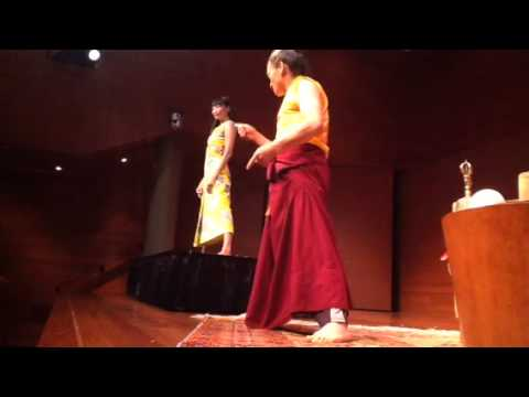 Tibetan Yantra Yoga with Lama Lobsang Palden at the Rubin Museum