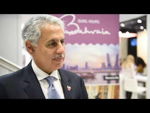 Zayed Bin Rashid Alzayani, minister of tourism, Bahrain