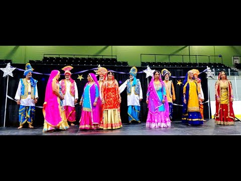 Bhangra Folk Dance, Mississauga Seniors Club at Older Adult EXPO