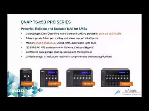 Intro to QNAP TS-x53 PRO & TS-x51 NAS Series