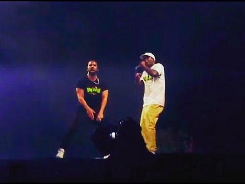 "Drake brought out Skepta to perform ""Shut Down"" Live in London   Boymeetsworldtour"