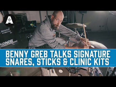 Benny Greb Talks Signature Snares, Sticks & Clinic Kits!